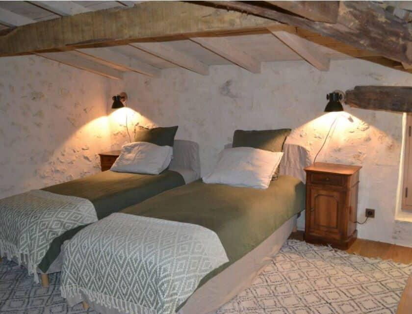 Chambre2 Gite Haut Peyrat